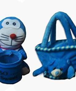 Kids Combos of Soft toy pen holder and super soft bag by Avioni