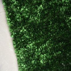 Avioni Handloom Green Reversble Bedside Runners in Soft Fur (22X55 Inch)