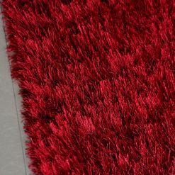 Avioni Handloom Red Reversble Bedside Runners in Soft Fur (55cm x 137cm (~22″ x 55″))
