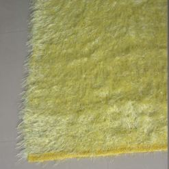 Fur Rug For Living Room|Yellow|By Avioni|122×182 cm|4×6 Feet