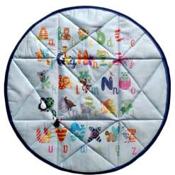 Baby mat / Kids Rugs Quilted- ABCD Design – Avioni