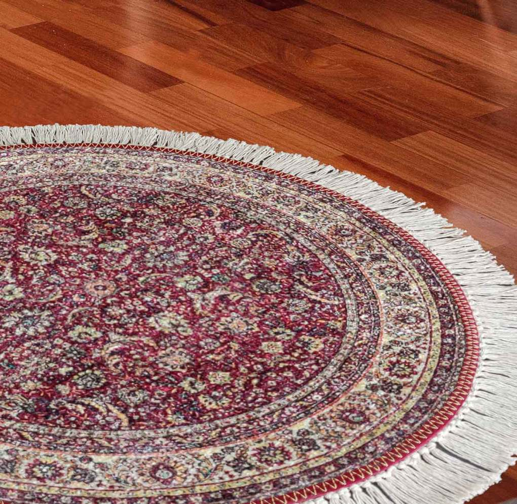 buy Avioni rugs & carpets online - persian round faux silk carpet for living room