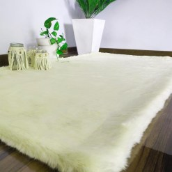 Soft Shaggy Premium Super Soft Luxury Rugs  – Cream – Avioni Carpets