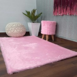 Soft Shaggy Premium Super Soft Luxury Rugs  – Pink – Avioni Carpets