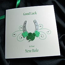 Handmade Good Luck Cards To Wish Some Good Luck To Family