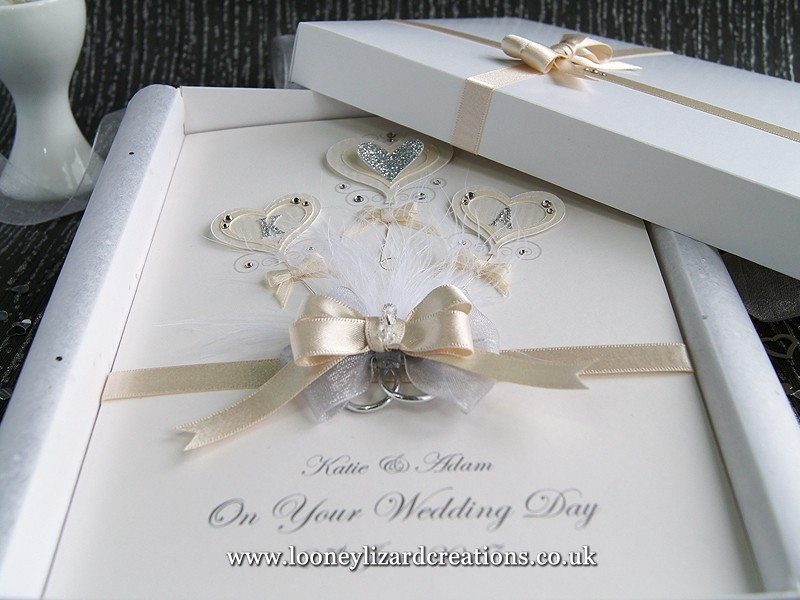 Bouquet Luxury Wedding Card