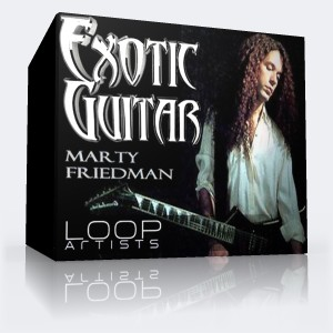 Marty Friedman exotic guitar loops