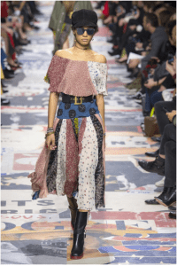 Patchwork skirt from Dior