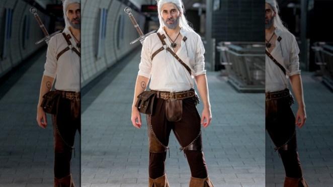 Geralt eyes smile