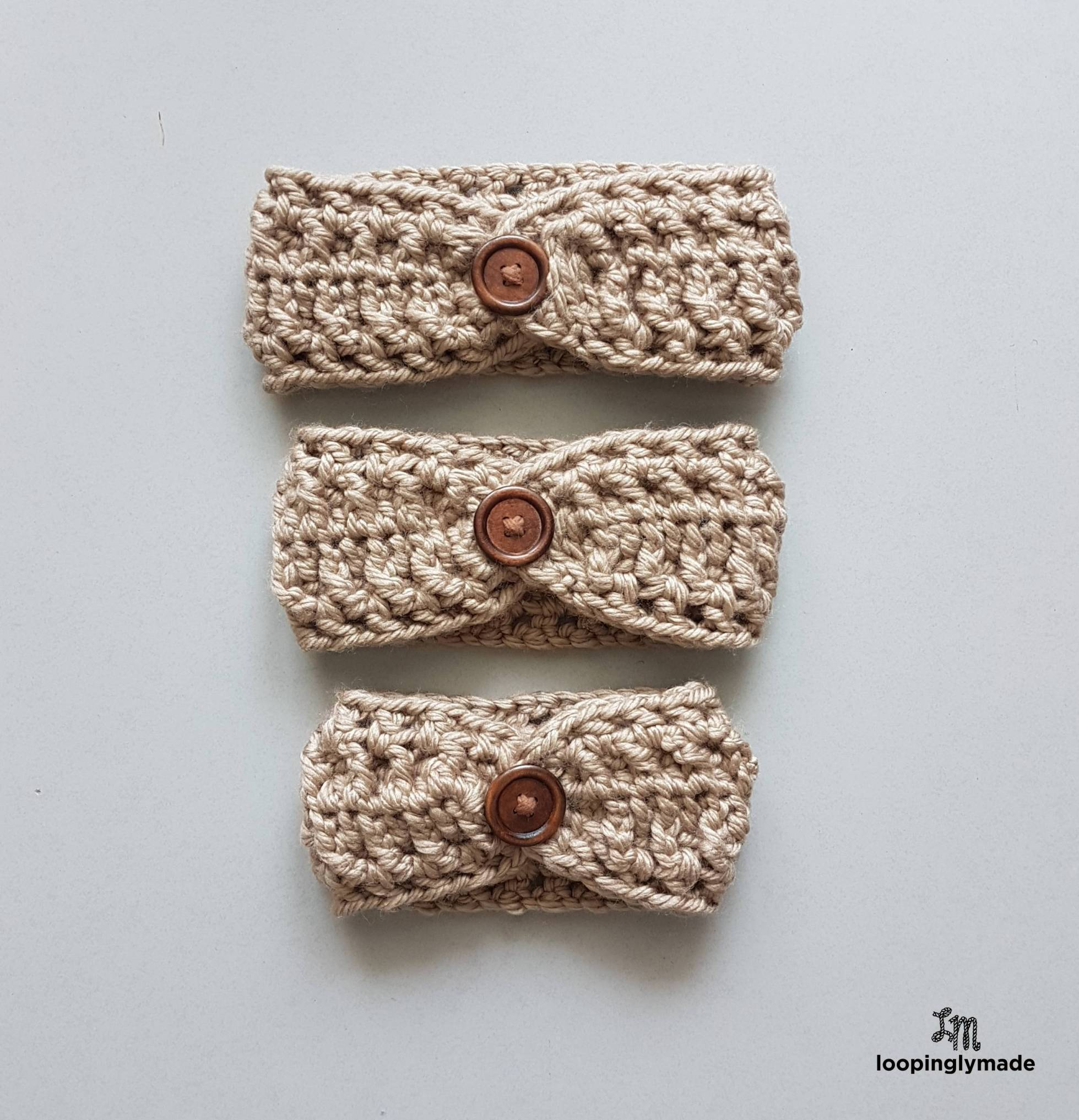 Super Quick & Chunky Headband by Rose @ Loopingly Made