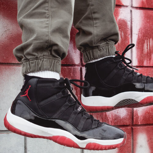 Air Jordan 11 Bred Colorway