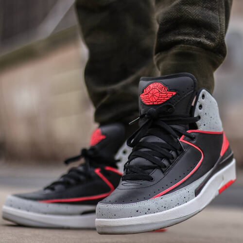 Air Jordan 2 Infrared Size