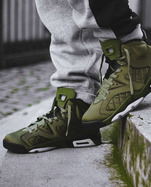 Jordan 6 Flight Jacket