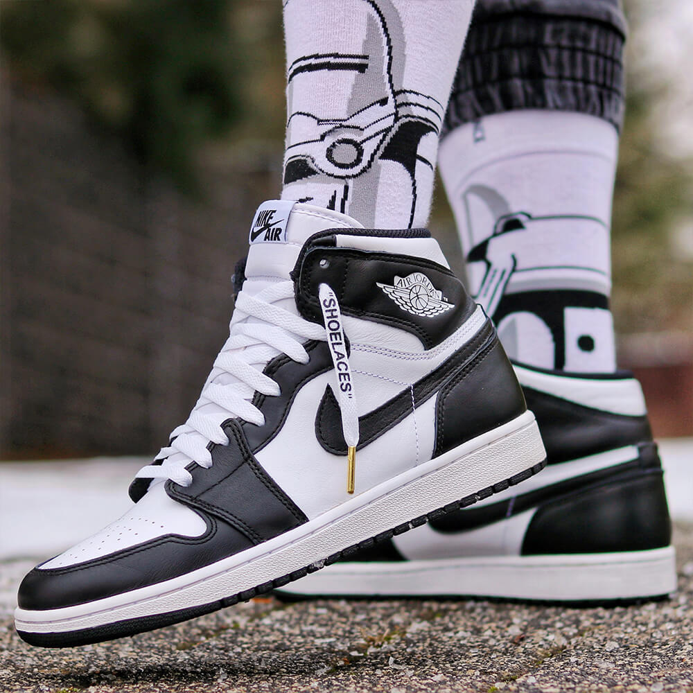 Loop King White Off-White Shoelaces IMG 1