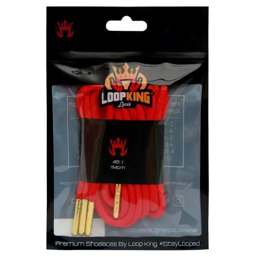 red rope shoelaces packaging