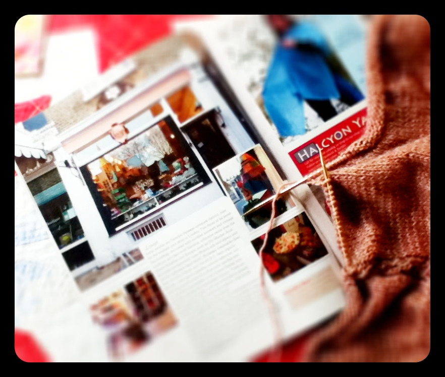 Knitscene and Other Magazines