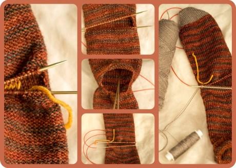 knit heel