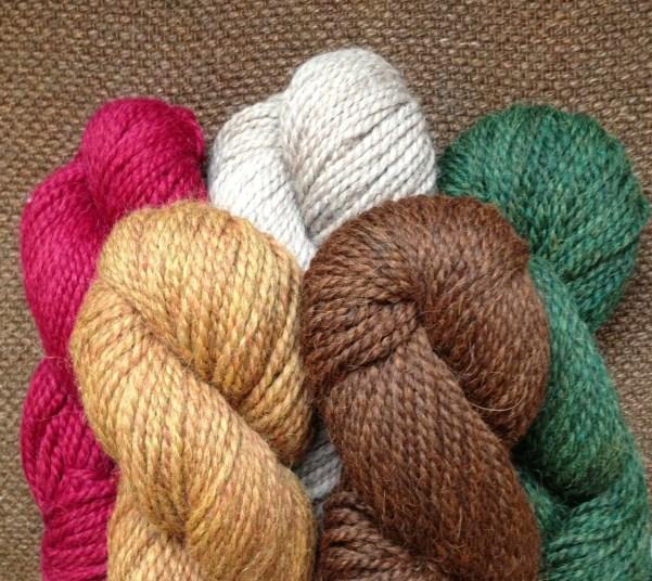 Ultra Alpaca Chunky Autumn Colours. Loop,London