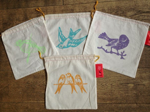 Pretty Cheep Project Bags from Blue Sky Alpacas. Loop, London