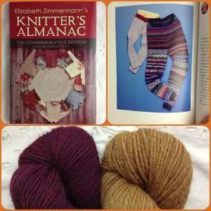 Christmas Wishlists At Loop! Berroco Ultra Alpaca in 62183 Garnet Mix and 6292 Tigers Eye, plus Knitter's Almanac- The Commemorative Edition. www.loopknitlounge.com Loop, London