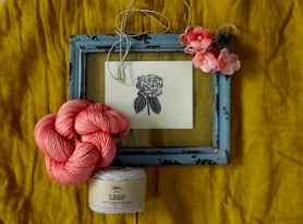 Madelinetosh 'London Cosmopolitan' and Orkney Angora 'Ghost'
