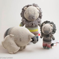 Miga De Pan Crocheted Animals