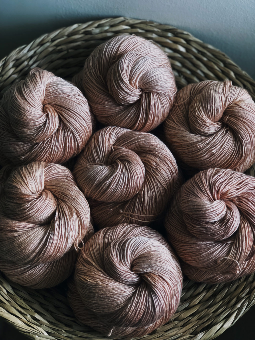 Moel View Yarns ~ Natural Dyed Beauty