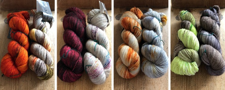 New Madelinetosh Colours at Loop London