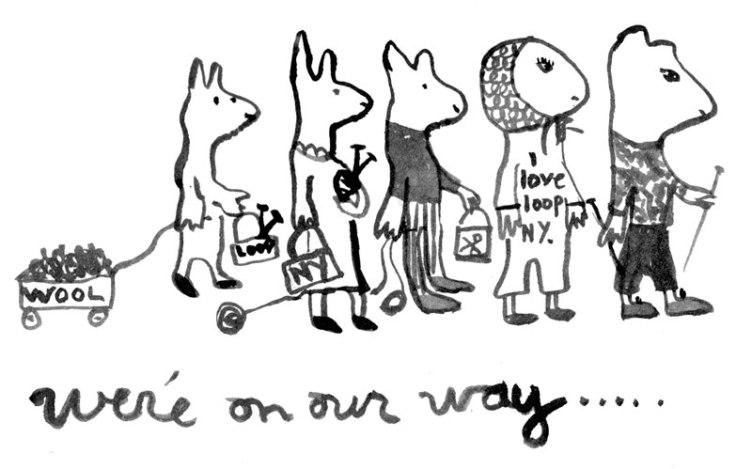 Julie Arkell illustration