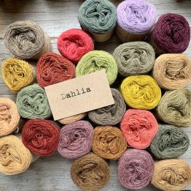 Wildwood crochet scarf kit at Loop London