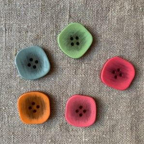 Retro Square Buttons at Loop London