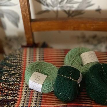 Twirl yarn at Loop London