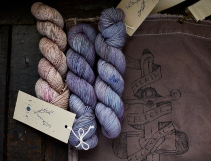 Viola Merino Fingering - these will be on our stand!