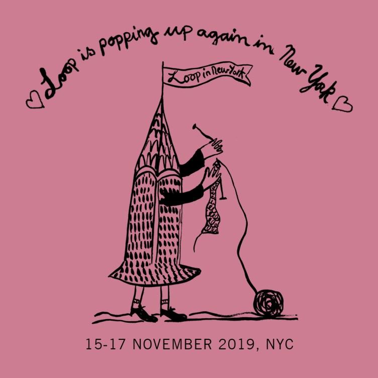 Loop NYC pop up by Julie Arkell at Loop London