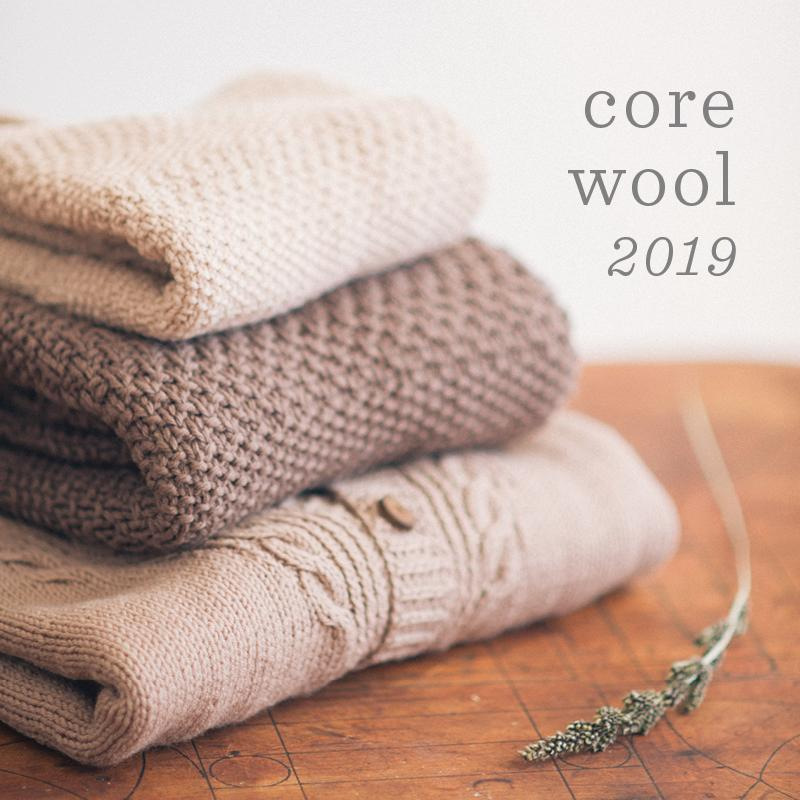 Quince & Co. Core Wool Collection 2019