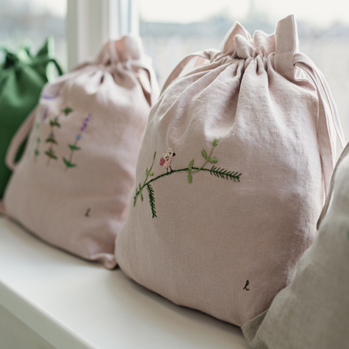 All The Beautiful Linen for Loop London