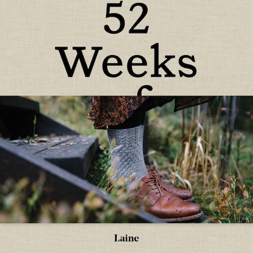 Laine 52 weeks of socks at Loop London