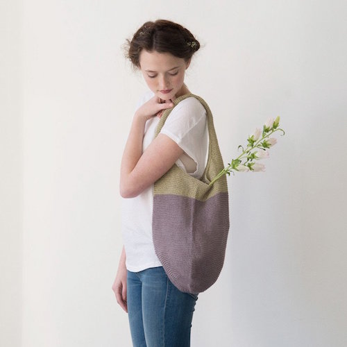 Quince and Co Artichoke bag at Loop London