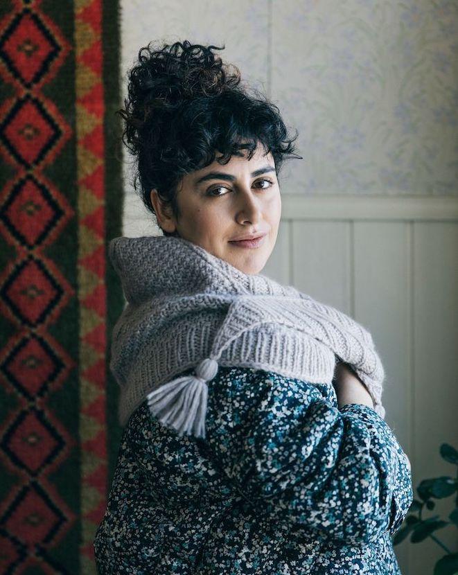 "Stunning new shawl kits from ""52 Weeks of Shawls"""