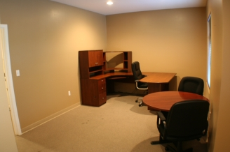 Front Office on upper level