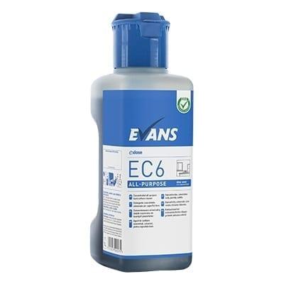 Evans - EC6 ALL PURPOSE Hard Surface Cleaner - 1 litre