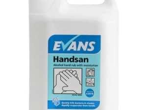 Evans - HANDSAN Alcohol Hand Sanitiser - 5 litre