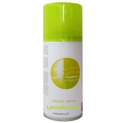 Loorolls.com SPAS Dispenser Sir freshener Refill Lemon Citrus