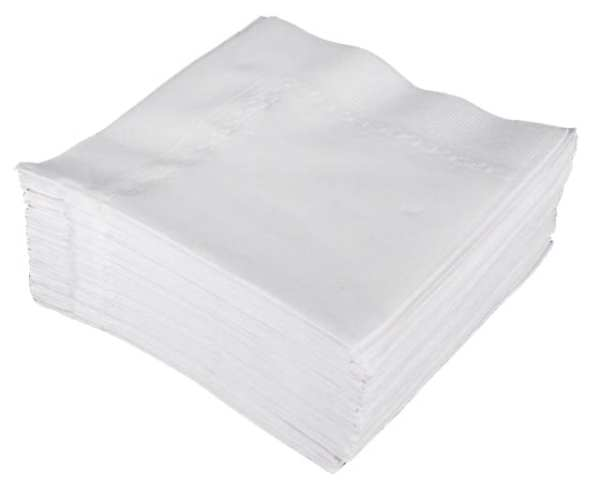 Napkins Tablin Airlaid 40cm 4 fold White 500's-0