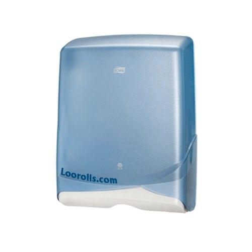 Tork | Lotus Z Fold Paper Hand Towel Dispenser Blue | Loorolls.com