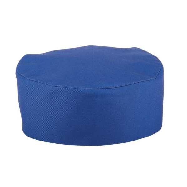 Skull Cap Royal Blue Polycotton - One Size-0