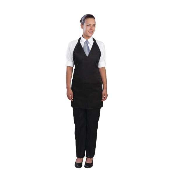 Uniform Works Unisex Tuxedo Apron Black-0