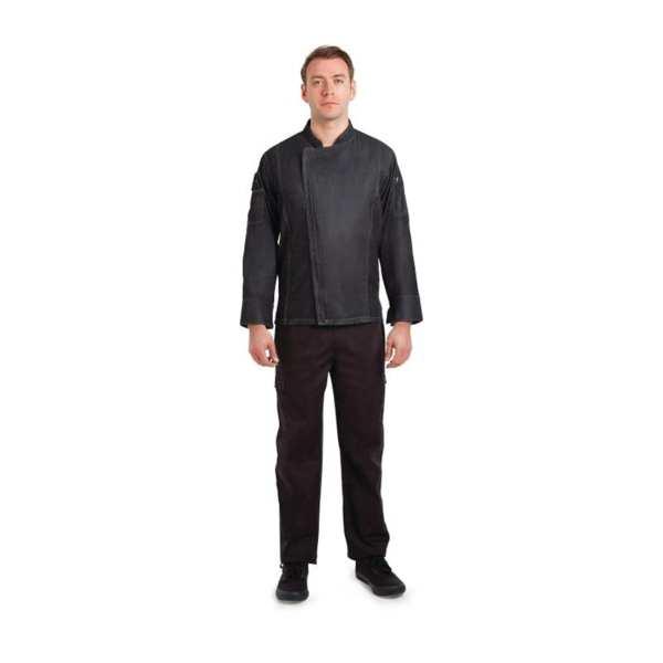 Chef Works Gramercy Denim Jacket - Size L (B2B)-0
