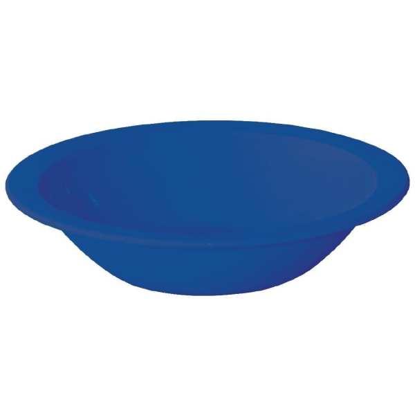 """Kristallon Polycarbonate Bowl Blue - 400ml 14oz 6 3/4"""" (Box 12)-0"""