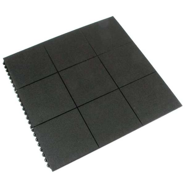 Rubber Paving Tile Matting - 0.9x0.9m (Direct)-0